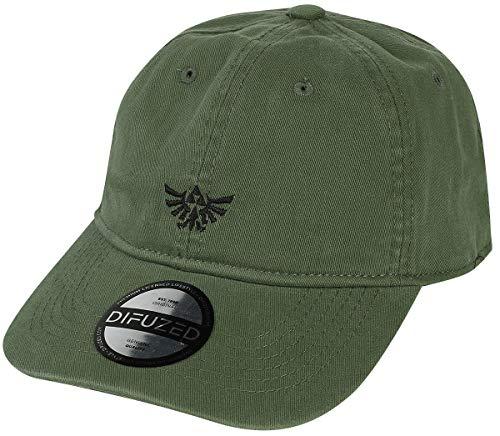 The Legend of Zelda Hyrule Unisex Cap grün one Size 100% Baumwolle Fan-Merch, Gaming, Nintendo