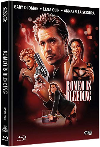 Romeo Is Bleeding [Blu-Ray+DVD] - uncut - auf 444 limitiertes Mediabook Cover B [Limited Collector's Edition] [Limited Edition]