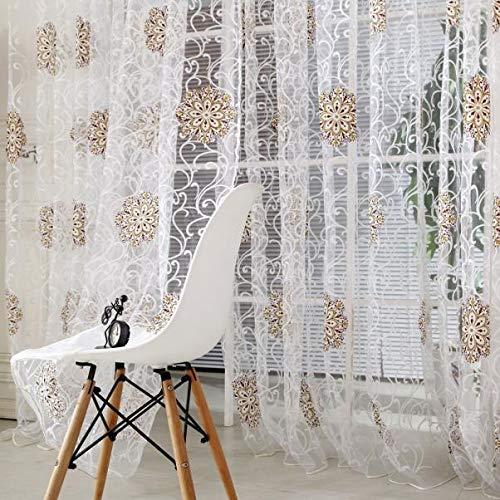 Vorhang Sha Vorhang/neues buntes Teilbraun Linie String Fenster Vorhang Quaste Tür Raumteiler Schal Volant