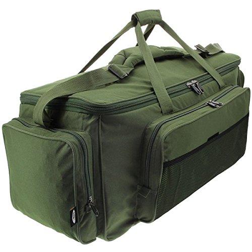 Karpfentasche/Angeltasche zum Karpfenangeln, Köder,Isoliertasche, NGT, 909L, XXL,Grün