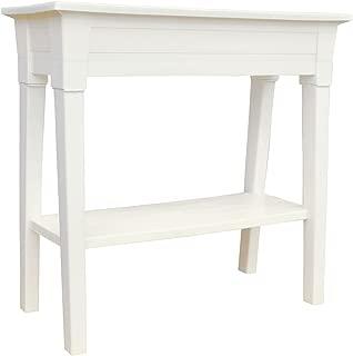 Adams Manufacturing 9303-48-3700 36-Inch Deluxe Garden Planter, White