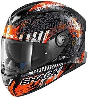Shark Casque moto STREET DRAK ZARCO MAT MAL.GP ASR Gris//Rouge M