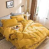 XZGSS Winter Bettwäsche-Sets Doppelseitig Kaschmir Bettdecken Bettbezüge Super Weich, Bequem, Sicher Ungiftig, Antibakteriell, Anti-Allergie, Antistatisch,220 * 240cm