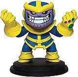 Diamond Select Toys Estatua Suave Gigante Marvel Animado Thanos, Multicolor...