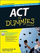 ACT For Dummies, with Online Practice Tests Paperback May 4, 2015