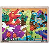 Melissa & Doug 24pc Prehistoric Sunset Dinosaurs Jigsaw Puzzle