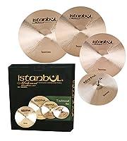 Istanbul Mehmet Traditional Cymbal Set (HHM14-CM16+CM18-RM20+ Bag)