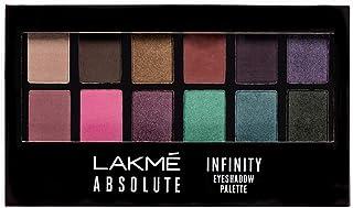 Lakme Absolute Infinity Eye Shadow Palette, Midnight Magic, 12 g