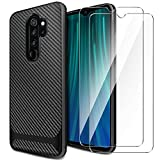 AROYI Cover Xiaomi Redmi Note 8 PRO&[2 Pack] Protettiva in Vetro Temperato,Custodia Redmi Note...