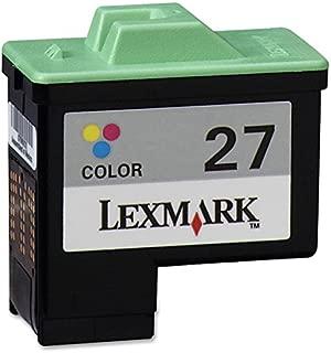 Lexmark 10N0227 Cartridge No. 27 - Yellow, cyan, magenta - original - ink cartridge - for i3; X11XX, 12XX, 22XX, 74, 75; Z13, 23, 24, 25, 33, 34, 35, 51X, 60X, 61X, 64X