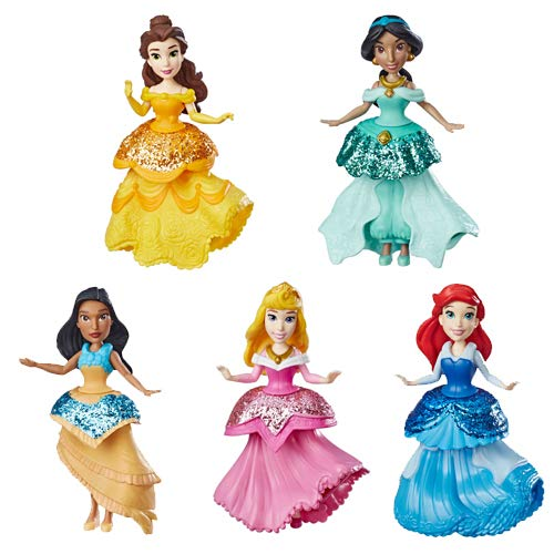 Disney Princess E3049 kleine pop, willekeurige keuze, meerkleurig