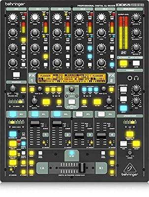 Behringer Digital Pro Mixer DDM4000 Ultimate 5-Channel Digital DJ Mixer by Behringer USA