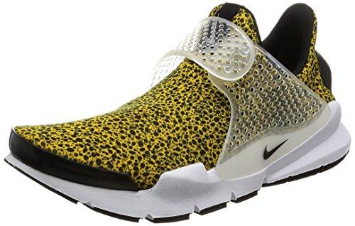 Nike Men Sock Dart Qs Safari Pack yellow university gold black-white Size 10.0 US