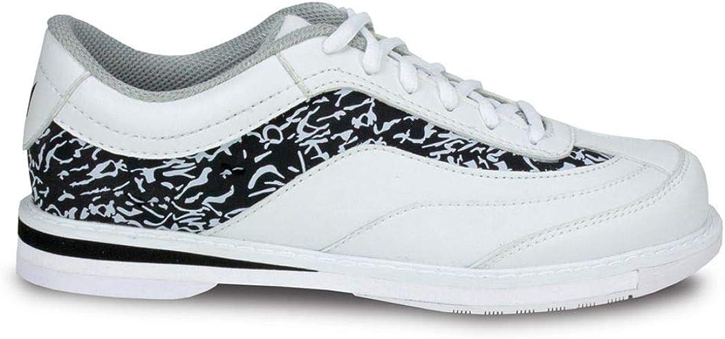 Brunswick Intrigue White/Black Ladies Size