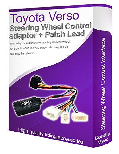 TOYOTA VERSO voiture stéréo Câble adaptateur, Connectez votre Volant de commande au volant les boutons