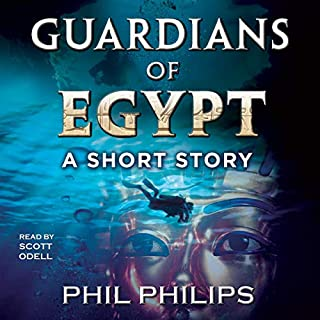 Guardians of Egypt audiobook cover art