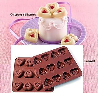 Mini Heart Ic Moule En Silicone Mini Cœurs Pour Cakes