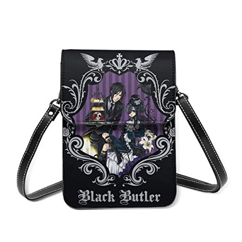 IUBBKI Black Butler Small leather bags, ladies handbags, mobile wallets, messenger bags, shoulder bags