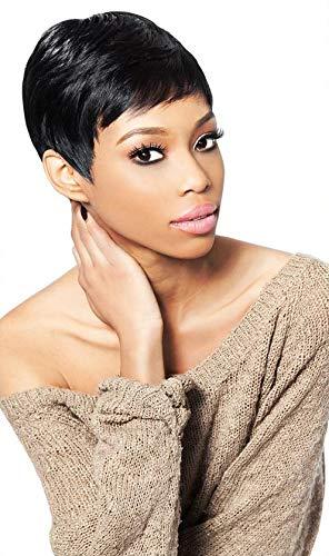TARA 1-2-3 27PCS (1B Off Black) - Outre Velvet Remy 100% Human Hair Weave