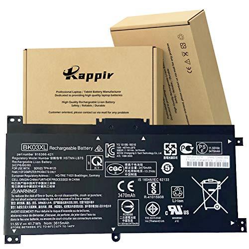 GDORUN BK03XL Laptop Battery for HP Pavilion X360 Converitble 14M-BA000 BA0XX BA011DX BA013DX BA015DX BA014DX BA114DX 14-BA000 BA175NR BA253CL BA125CL BA051CL BA110NR 916366-421 916811-855 916812-855