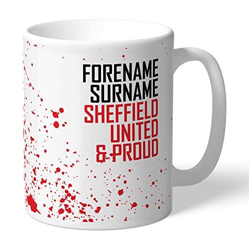 Official PERSONALISED Sheffield United FC Proud Mug