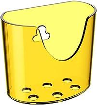 Mini Organizador Com Ventosa Glass Am Coza Amarelo