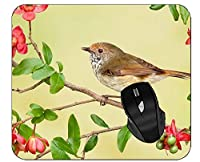 専門のマウスパッド動物の鳥の枝の花鳥雀スズメのマウスパッド