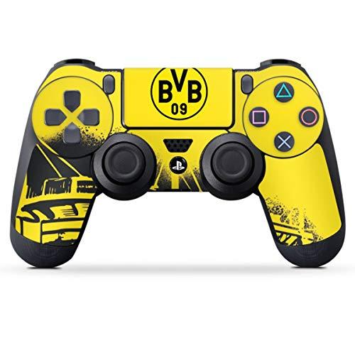 DeinDesign Skin kompatibel mit Sony Playstation 4 PS4 Controller Folie Sticker Borussia Dortmund Stadion BVB