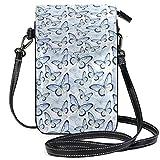 XCNGG Monedero pequeño para teléfono celular Butterfly Cell Phone Purse Wallet for Women Girl...