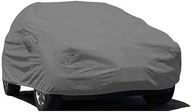 ARNV Fabric Car Body Cover for Hyundai i10 (Grey)