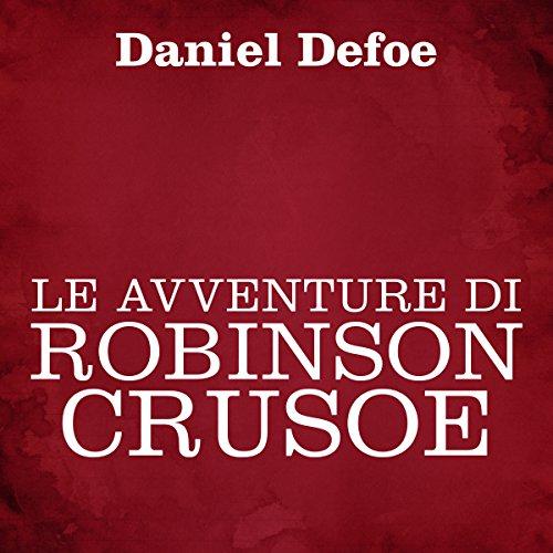Le avventure di Robinson Crusoe copertina