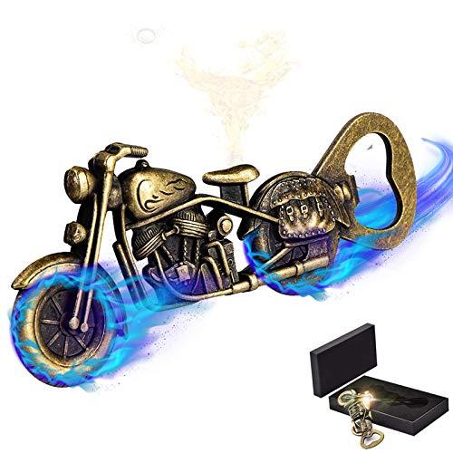 SGMY Abrebotellas de Motocicleta, Cerveza y Bebidas Abridor, Abrebotellas de Motocicleta de Metal para Fiesta de Bar, Juego de Beber, Regalos para Hombres