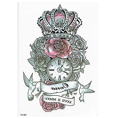 shiyueNB Wasserdichter Tattoo Aufkleber Schmetterling Flügel Tattoo Tatoo Tatouage Temporaire Zurück Brust Frauen-3pcs