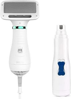 Sponsored Ad - PetHaven Dog Brush Pet Hair Dryer Portable Grooming Blower 2 in 1 Adjustable Temperature Slicker Shedding B...