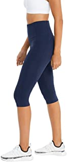 Rockwear Activewear Women's 3/4 Curve Seam Detail Tight from Size 4-18 for 3/4 Length Bottoms Leggings + Yoga Pants+ Yoga ...