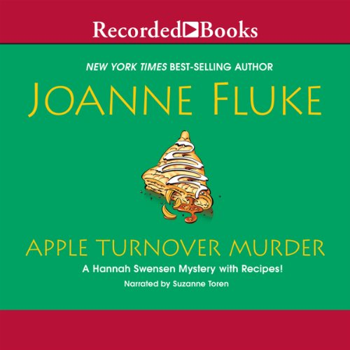 Apple Turnover Murder audiobook cover art