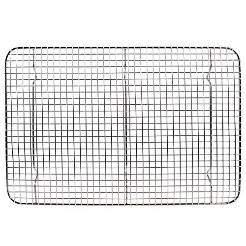 Tribal Cooking Cooling Rack - 10' x 15' - Cooling and Baking Rack - Oven Safe Wire Rack for Cookie Cooling, Baking with Sheet Pan - Large, Nonstick, and Stainless Steel