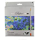 Nuevo High Quality24 36 48 72 Color Marco Fine Art Drawing Oil Base Set de lápices no tóxicos para boceto de artista 72 colores