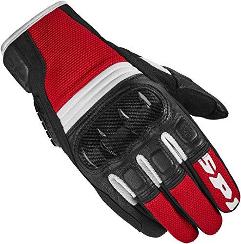 Spidi TX-2 - Guantes de motorista (talla 3XL), color rojo y negro
