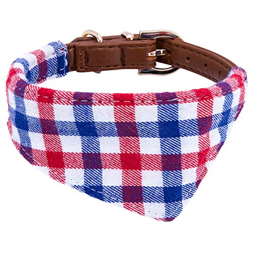 Puppy Collars for Small Dogs - StrawberryEC Adjustable Puppy Id Buckle Collar...