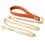 Extra Heavy Duty Welding Cooper Dog Leash, Durable and Premium Quality, - 42 inch Long 10MM Wide Perfect for...