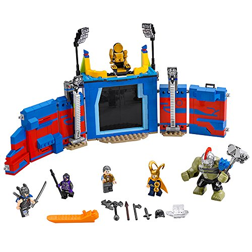 LEGO Super Heroes Thor Vs. Hulk: Arena Clash 76088 Building...
