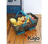 Multipurpose Garden Harvest Basket Mod Hod Blue