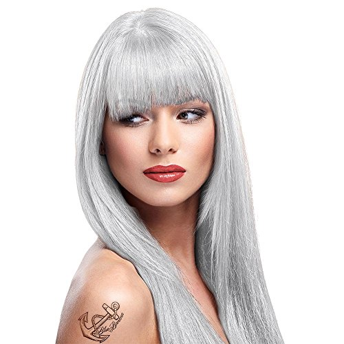 La Riche Directions Semi-Permanent Hair Colour Dye x2 Pack-White Toner-for bleached hair (dir)