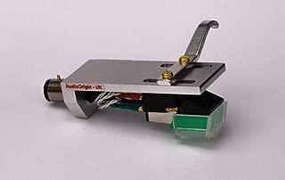 Headshell Cartridge Mount, Eliptical Stylus, Needle for Stanton STR8 20, STR8 30, STR8 50, STR8 80, STR8 90, STR8 100, STR8 150, - MADE IN ENGLAND