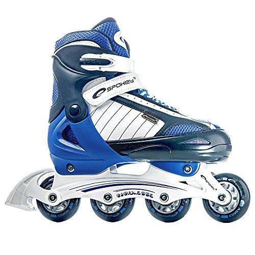 SET - SPOKEY PIROUETTE Größenverstellbare Inline Skates / Schlittschuhe mit austauschbarer Schiene + ULTRAPOWER Beutelrucksack   Kinder   Damen   Inline Blades  ...