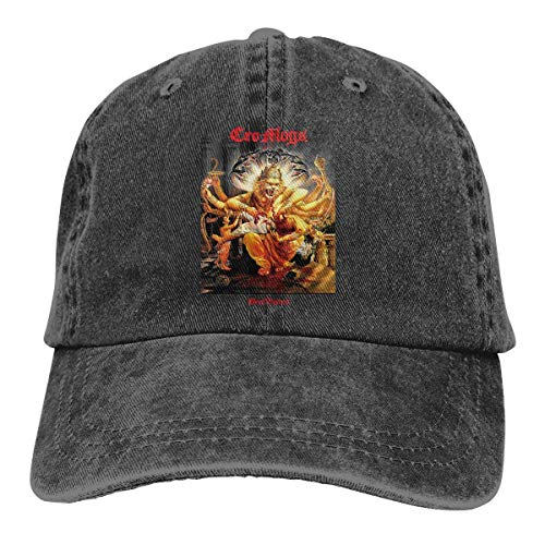 Yuanmeiju Cowboy Hat Cro-Mags Adult Men and Women Casual Sports Baseball Cap 3D Printed Cap