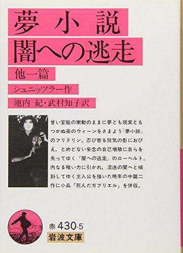 夢小説・闇への逃走 他一篇 (岩波文庫)