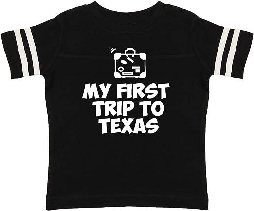 Toddler//Kids Sweatshirt My First Trip to Fort Worth