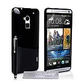 htc one max price in bangladesh  Yousave Accessories -Cover per HTC One Max Custodia in Silicone Gel con Stilo Penna, Nero